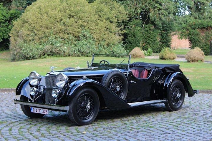 Alvis Speed 20 SC Vanden Plas Tourer - 1935 For Sale (picture 1 of 6)