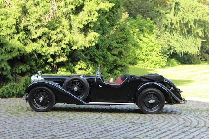 Alvis Speed 20 SC Vanden Plas Tourer - 1935 For Sale (picture 2 of 6)