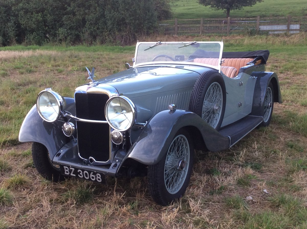 1935 Alvis Silver Eagle tourer For Sale (picture 1 of 6)