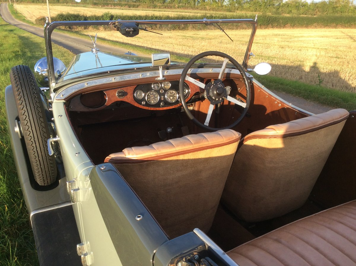 1935 Alvis Silver Eagle tourer For Sale (picture 5 of 6)