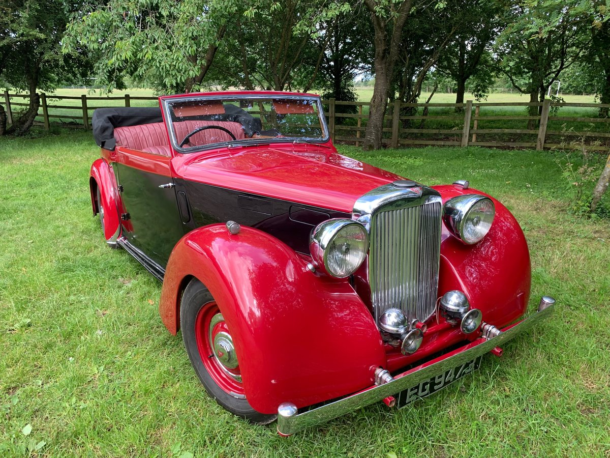 1949 Alvis TA14 Drophead Coupe  SOLD (picture 1 of 6)