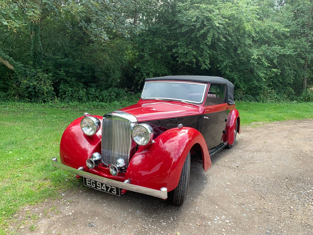 1949 Alvis TA14 Drophead Coupe  SOLD (picture 2 of 6)