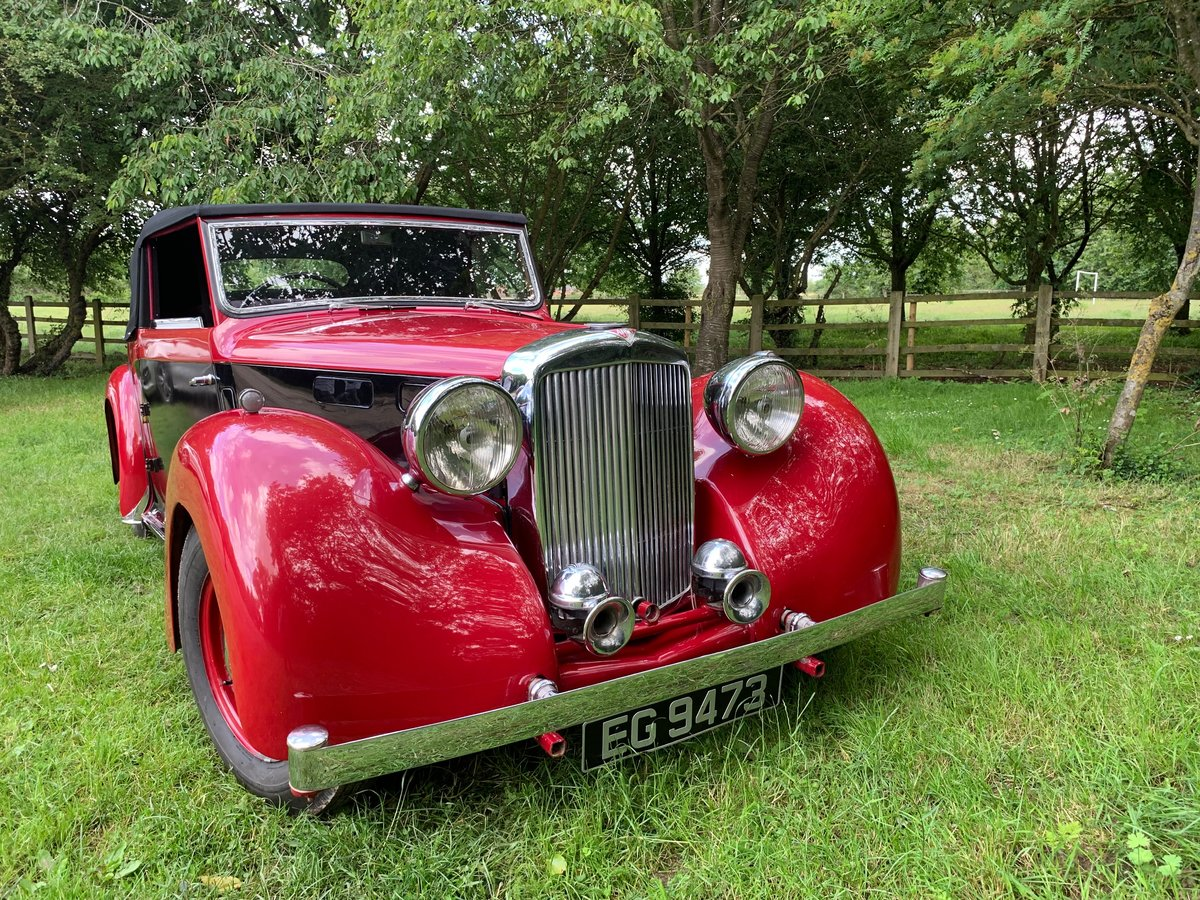 1949 Alvis TA14 Drophead Coupe  SOLD (picture 4 of 6)