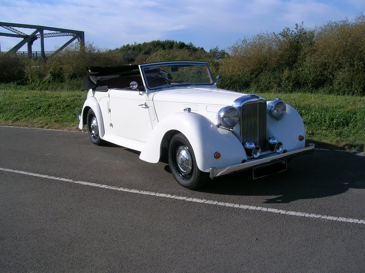 1949 Alvis TA Fourteen Drophead Coupe For Sale (picture 1 of 6)
