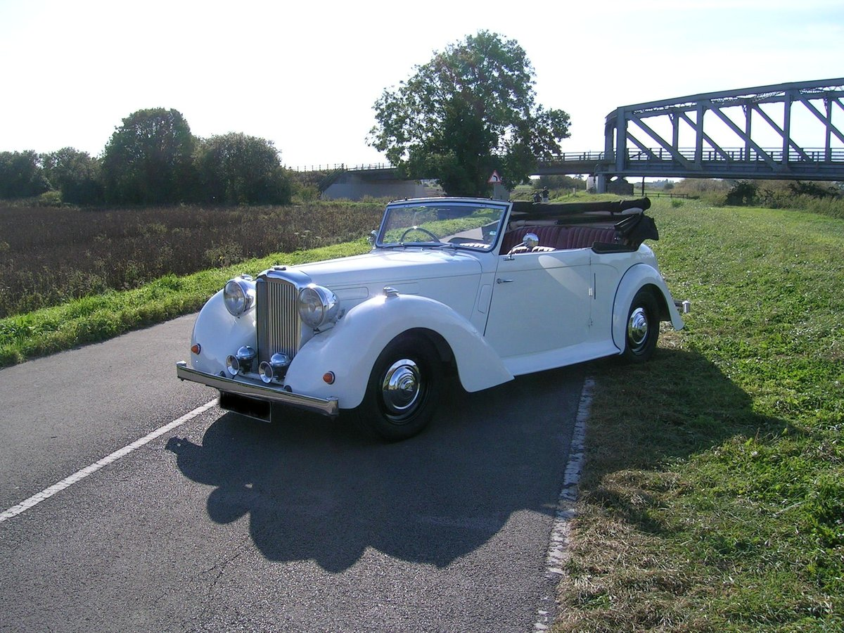 1949 Alvis TA Fourteen Drophead Coupe For Sale (picture 2 of 6)