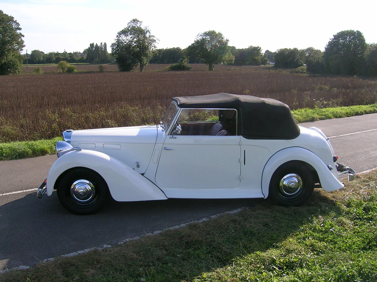 1949 Alvis TA Fourteen Drophead Coupe For Sale (picture 3 of 6)