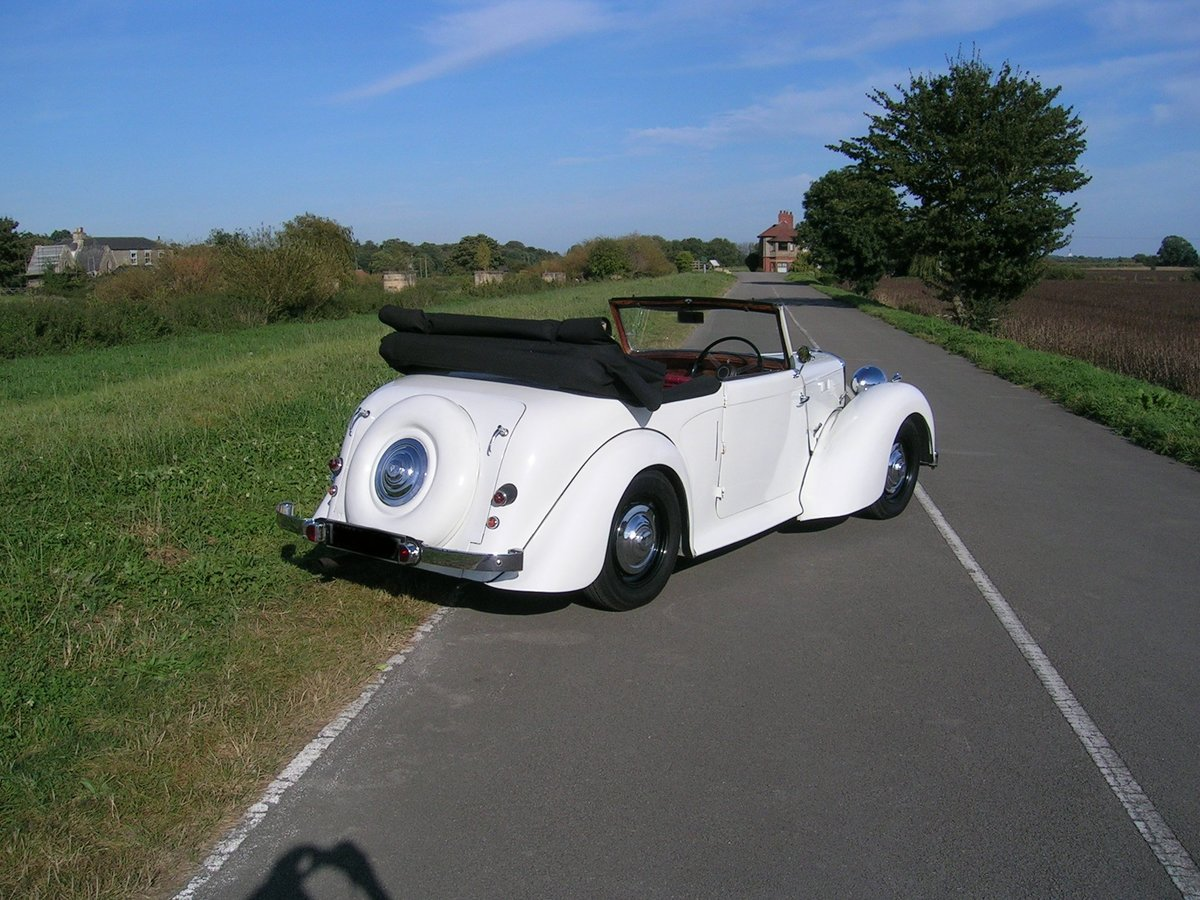 1949 Alvis TA Fourteen Drophead Coupe For Sale (picture 4 of 6)