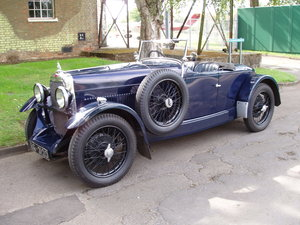 1932 Alvis 12/60 TL Beetleback For Sale