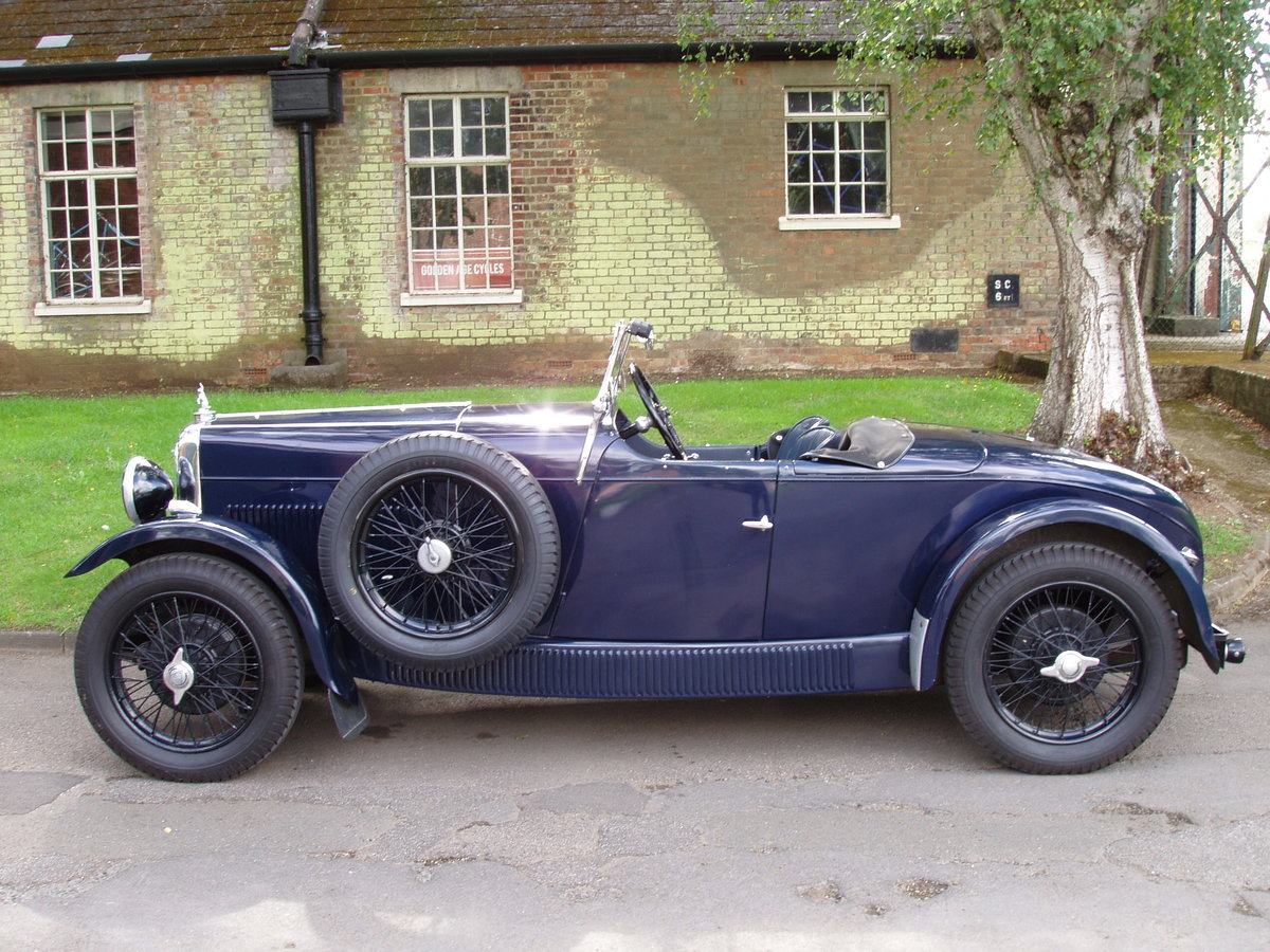 1932 Alvis 12/60 TL Beetleback For Sale (picture 2 of 6)