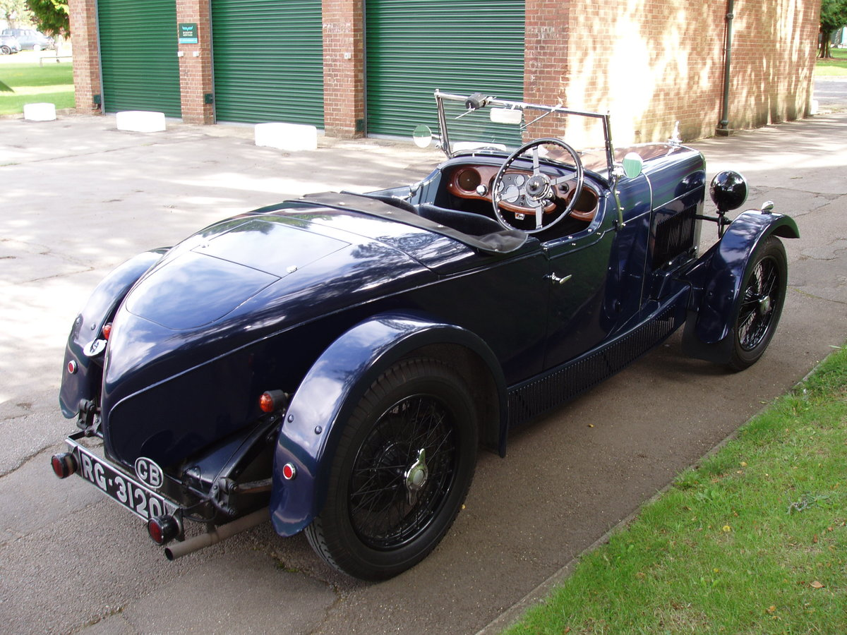 1932 Alvis 12/60 TL Beetleback For Sale (picture 3 of 6)