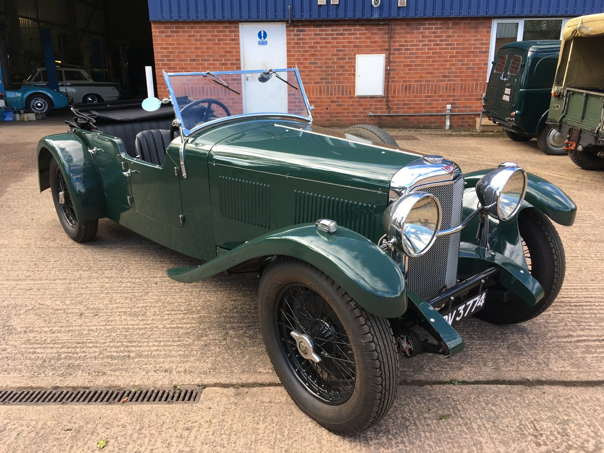 1933 Alvis Speed 20 SA Cross and Ellis Tourer For Sale (picture 1 of 6)