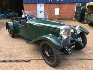 Alvis Speed 20 SA Cross and Ellis Tourer