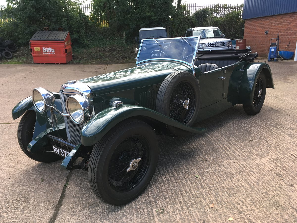 1933 Alvis Speed 20 SA Cross and Ellis Tourer For Sale (picture 2 of 6)