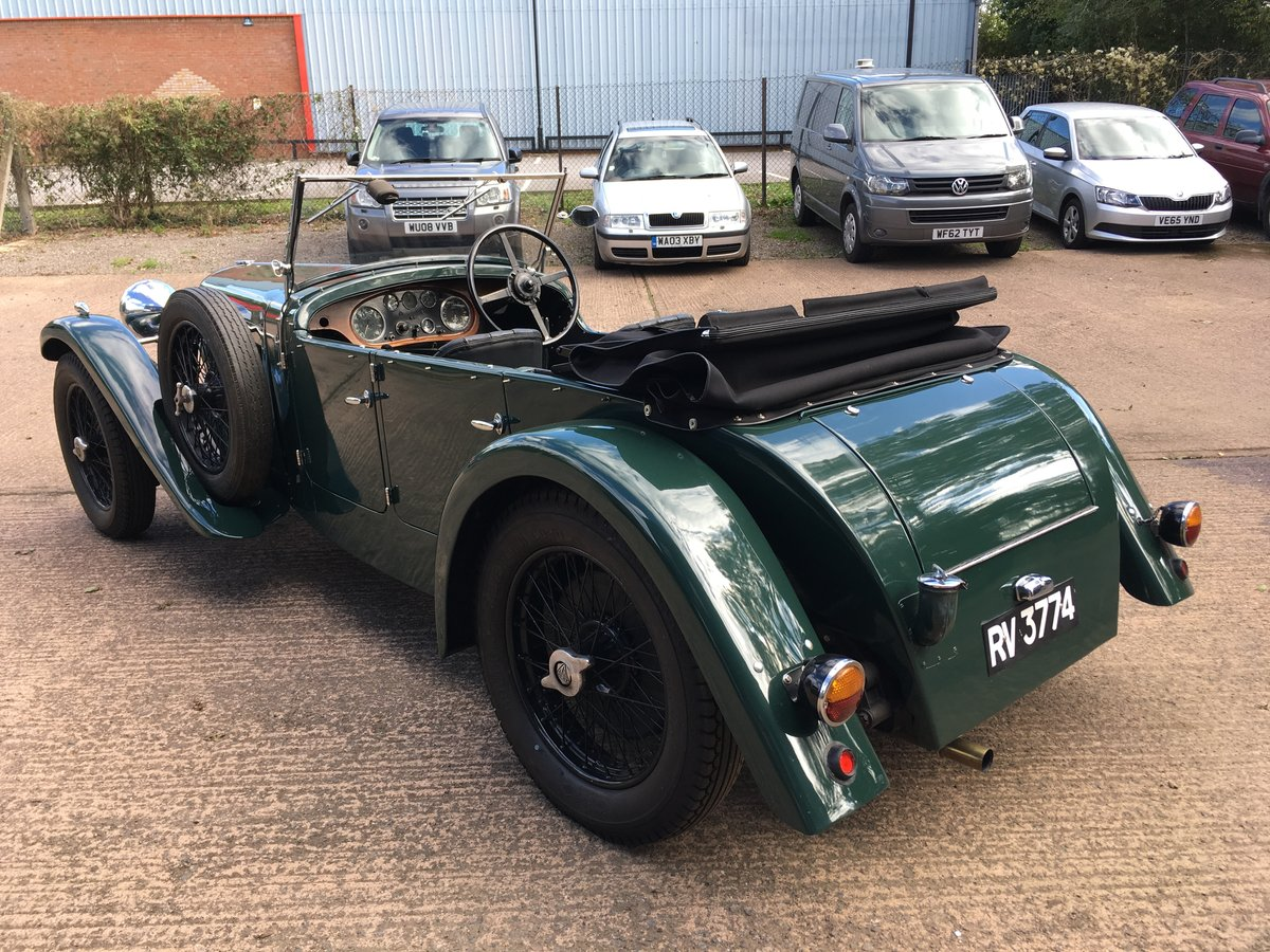 1933 Alvis Speed 20 SA Cross and Ellis Tourer For Sale (picture 4 of 6)