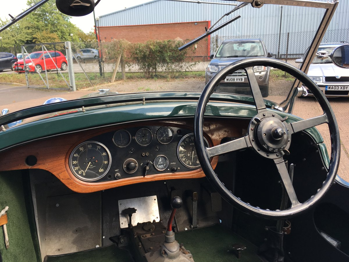 1933 Alvis Speed 20 SA Cross and Ellis Tourer For Sale (picture 5 of 6)