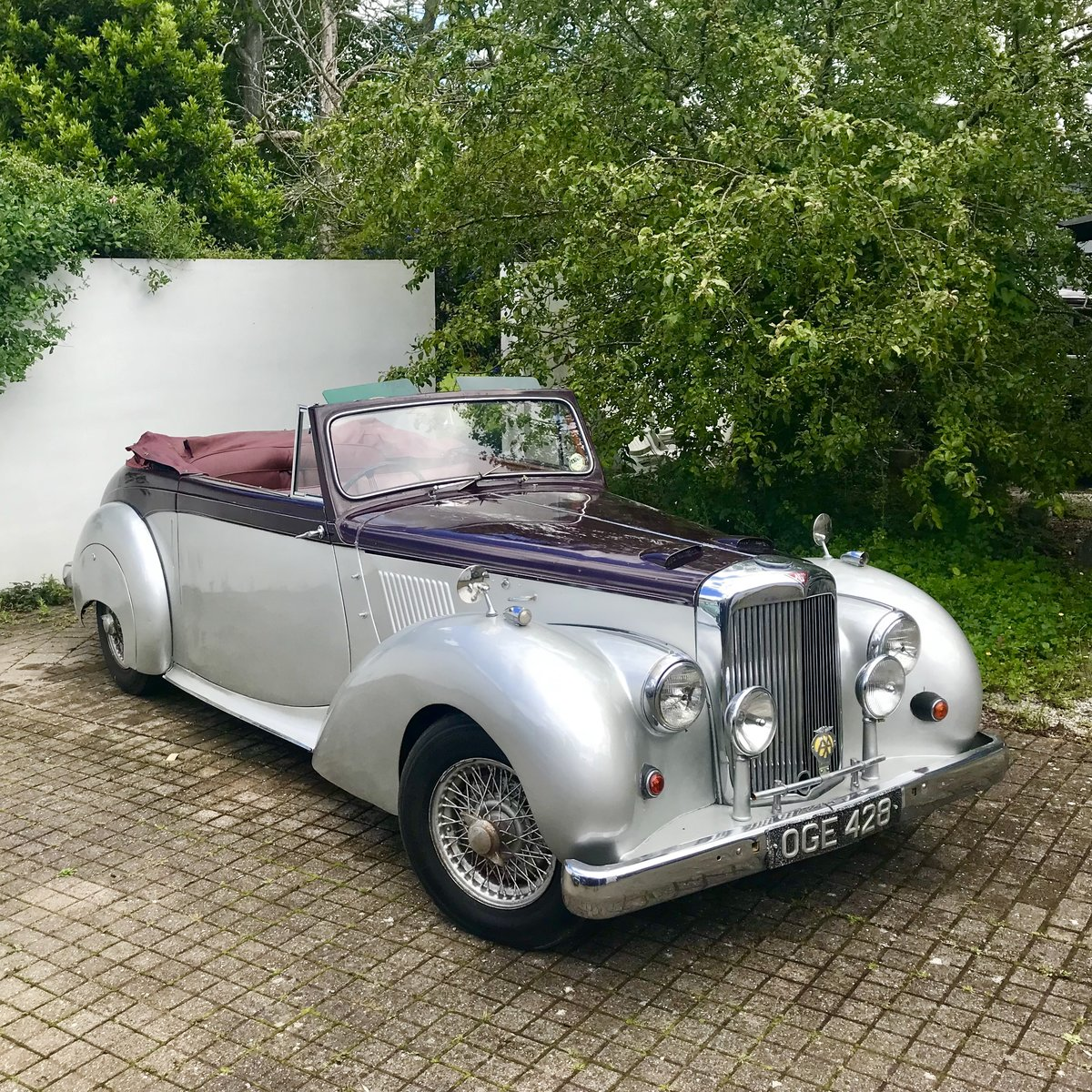 1955 ALVIS TC21 GREYLADY CONVERTIBLE For Sale (picture 1 of 5)