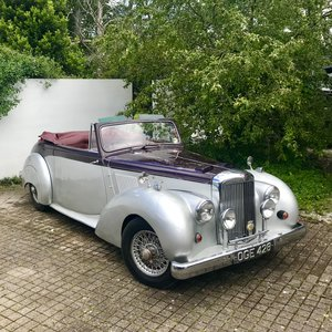 1955 ALVIS TC21 GREYLADY CONVERTIBLE For Sale