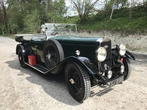 1930 Alvis Silver Eagle 16.95 TB Tourer SOLD