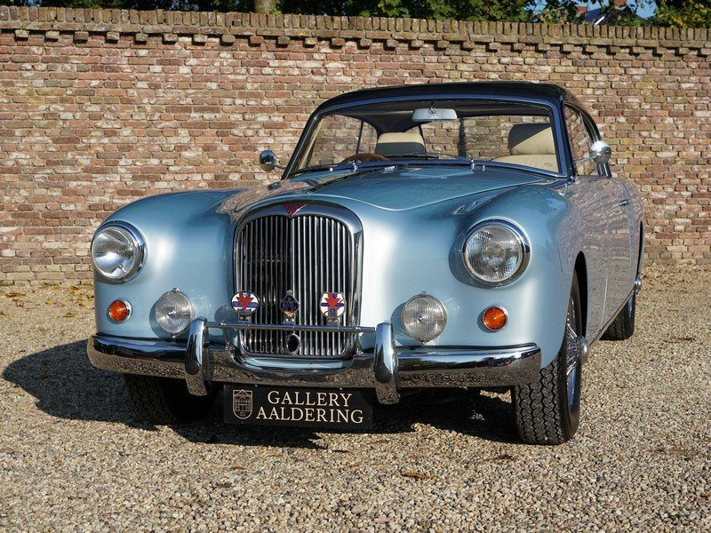 1955 Alvis TC 108/G Graber Willowbrook body only 16 made, sunroof For Sale (picture 5 of 6)