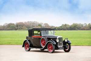 "1930 ALVIS SILVER EAGLE TB 16.95HP ""CLUBMAN'S"" DROPHEAD COUP For Sale"