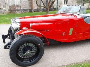 1935 Alvis Speed 25 engine Firebird Special