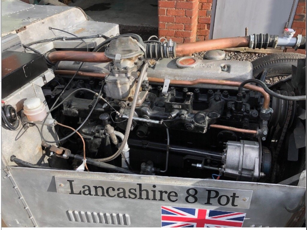 1953 Alvis Speciial Rolls Royce B81 engine SOLD (picture 4 of 6)