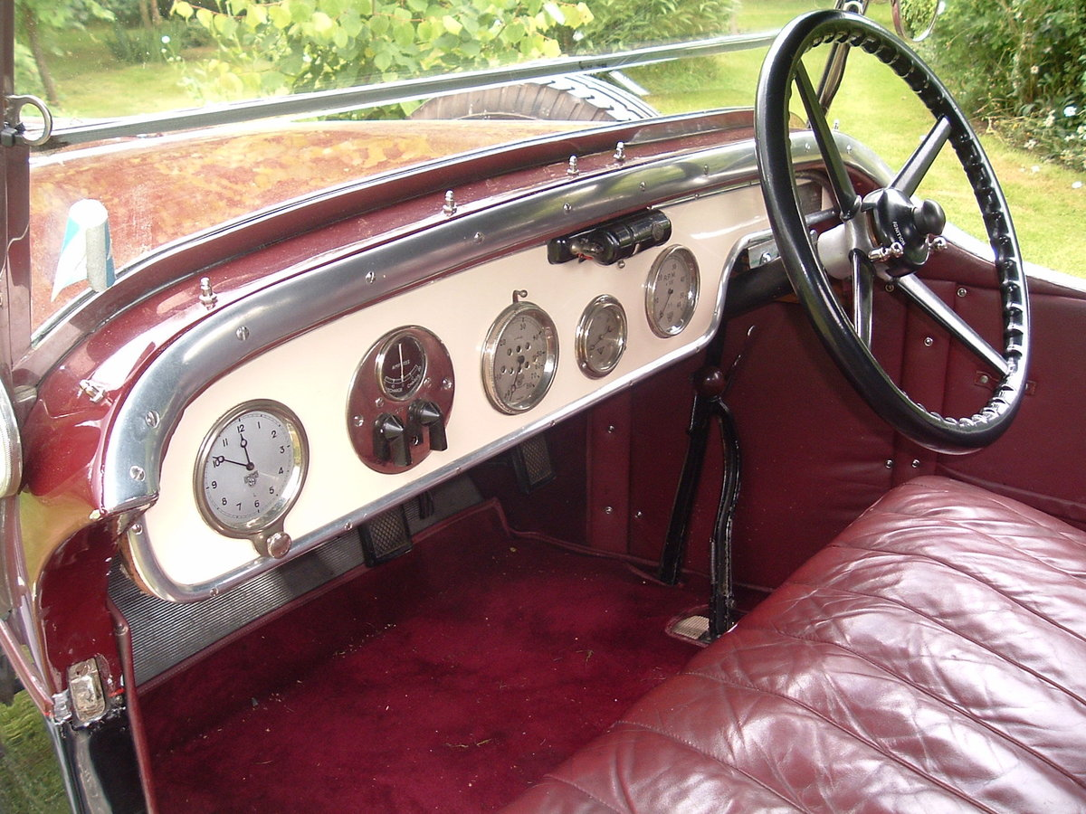 1931 Alvis 12/50 TJ 'Beetleback'  For Sale (picture 3 of 20)