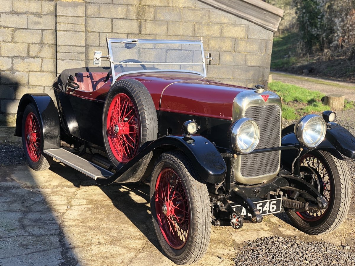 1931 Alvis 12/50 TJ 'Beetleback'  For Sale (picture 4 of 20)