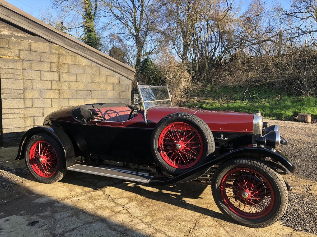 1931 Alvis 12/50 TJ 'Beetleback'  For Sale (picture 5 of 20)
