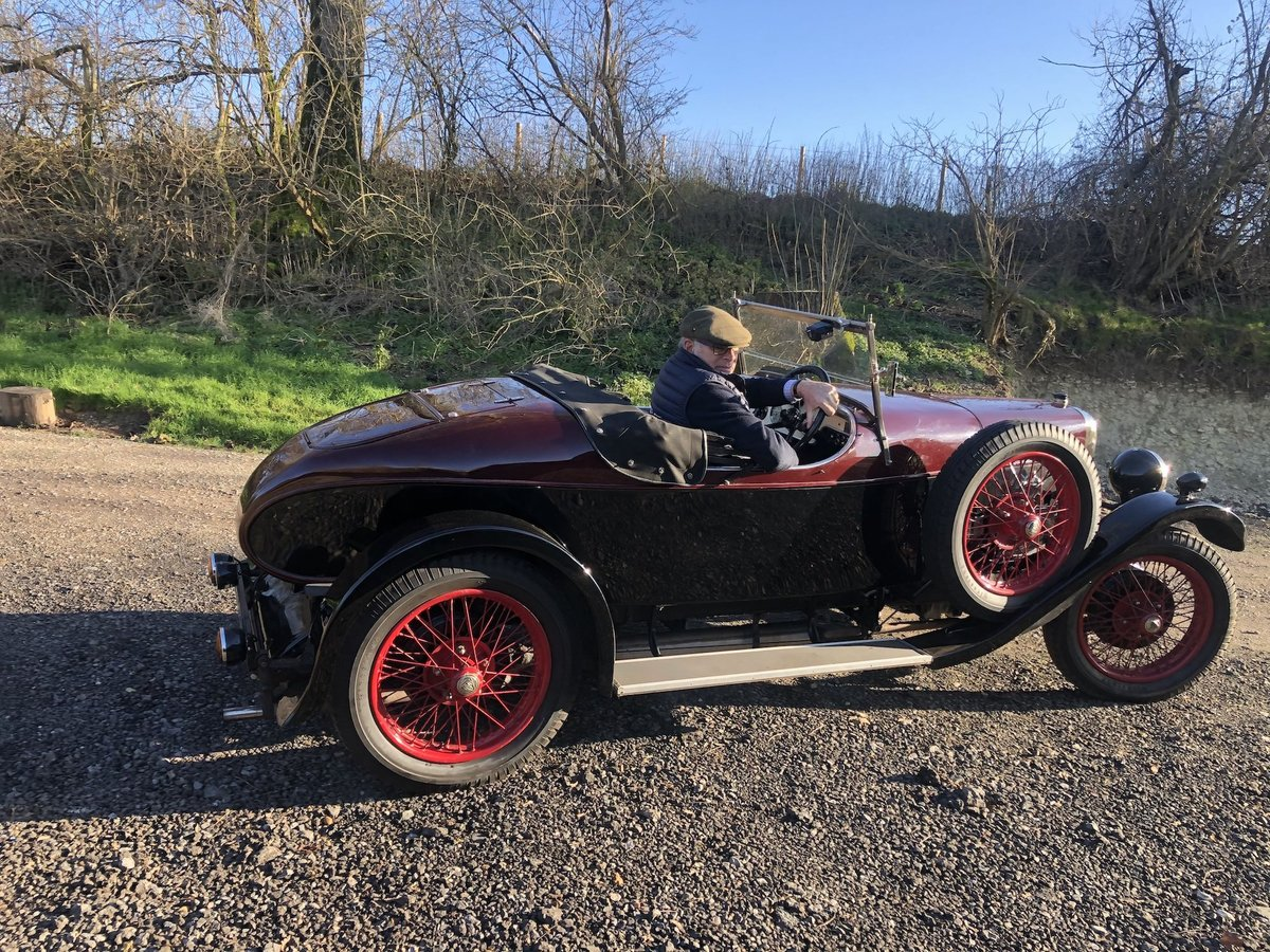 1931 Alvis 12/50 TJ 'Beetleback'  For Sale (picture 6 of 20)