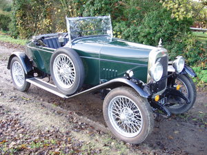 1928 Alvis 14.75 Beetleback For Sale