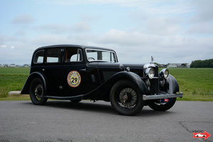 1936 Alvis Silver Eagle Six Light Royal Saloon by Cross and Ellis