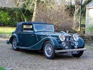 1938 Alvis Speed 25 SC Charlesworth Drophead Coupe