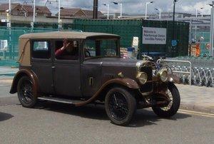 1929 Alvis TG 12/50 Alvista Saloon For Sale by Auction