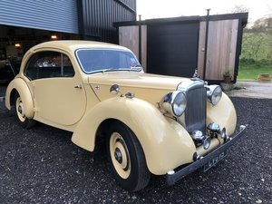 1947 Alvis Duncan Coupe - extensively restored
