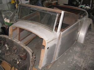 1936 Alvis Speed 20 SD Project For Sale by Auction