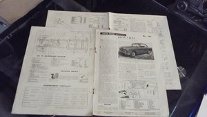 1963 ALVIS TD21 TEST REPORT AND AUTOCAR ADVERT For Sale