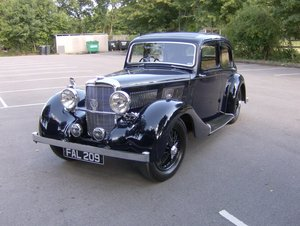 1937 Alvis 12/70 4 light sports saloon SOLD