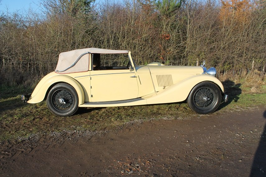 1937 Alvis Speed 25 Drop Head Coupe For Sale (picture 1 of 6)