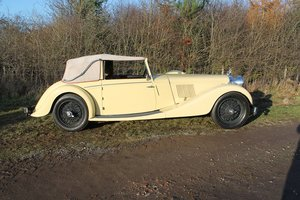 1937 Alvis Speed 25 Drop Head Coupe For Sale