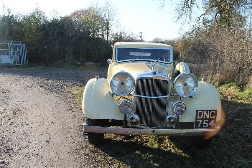1937 Alvis Speed 25 Drop Head Coupe For Sale (picture 2 of 6)