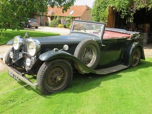 1934 Alvis Speed 20 SB Charlesworth Drophead Coupe For Sale by Auction