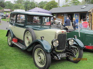 1927 Alvis Sportsman Saloon SOLD
