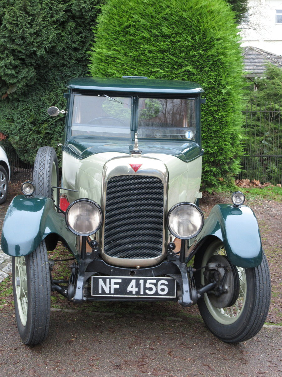 1927 Alvis Sportsman Saloon SOLD SOLD (picture 3 of 6)