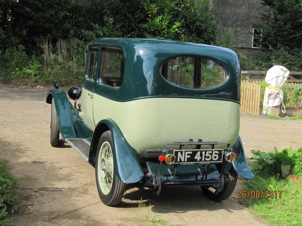 1927 Alvis Sportsman Saloon SOLD SOLD (picture 4 of 6)