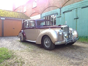 1954 Alvis TC21/100 Greylady Saloon