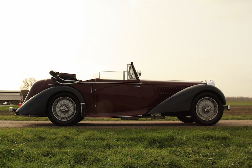 1939 Alvis 4.3 Drop Head Coupe For Sale (picture 1 of 6)