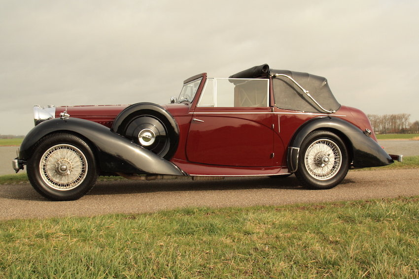 1939 Alvis 4.3 Drop Head Coupe For Sale (picture 3 of 6)