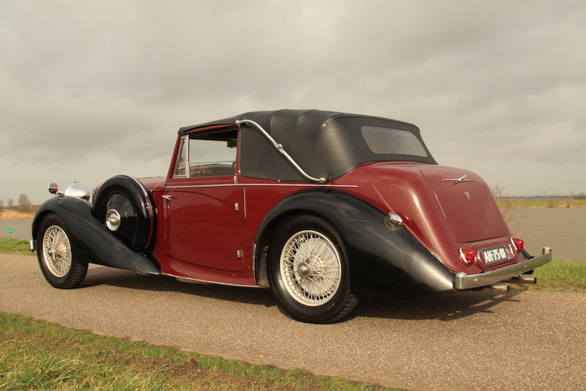 1939 Alvis 4.3 Drop Head Coupe For Sale (picture 4 of 6)