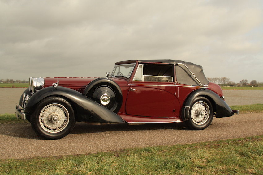 1939 Alvis 4.3 Drop Head Coupe For Sale (picture 5 of 6)